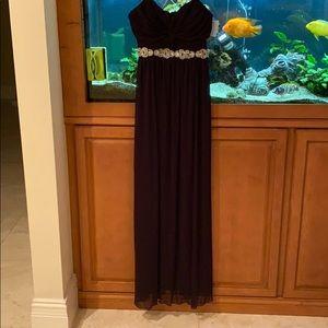 Dark purple Davids bridal brand new dress